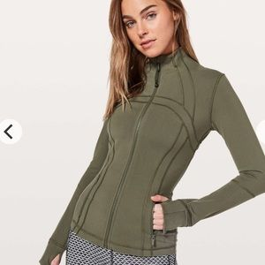 Lululemon Define Green Jacket Size 10